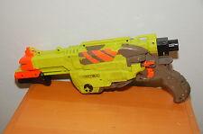 Nerf Vortex Lumitron Glow In The Dark Disc Gun Toy Blasters