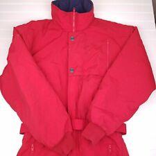 Mens Vintage OBERMEYER Snow Suit Ski Ferguson red size medium snowboarding HU