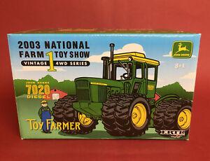 ERTL 1/32 2003 National Farm Toy Show John Deere 7020 Tractor No16105A MIB