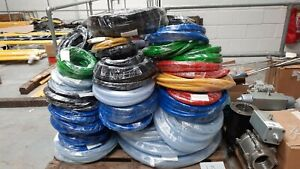 Over 1km of Braided Reinforced PVC Hosepipe Hose Various Colours & Sizes Job Lot