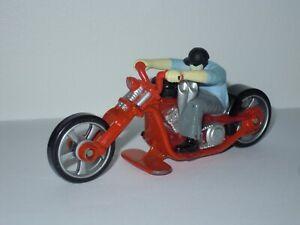 Hot wheels Mattel 2008 Rock N Road Moto Motorcycle Bike style Majorette Matchbox