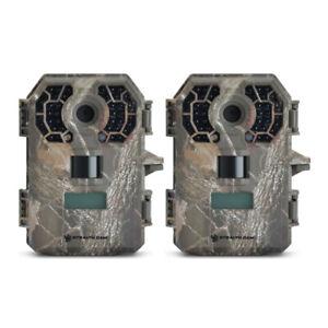 (2) Stealth Cam G42NG No Glo Digital Trail Game Camera 10MP