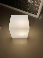 LED CUBE STOOL TABLE LIGHT, 39 CM DESIGNER FLOOR LAMP