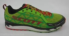 Scott Mens Trail Rocket Shoes 235895 Green/Red Size 8.5