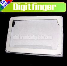 SAMSUNG GALAXY TAB 7.7 P6800 P6810 CUSTODIA Eco Pelle BIANCA con supporto Stand