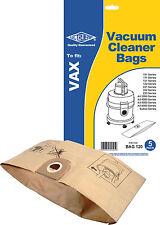 Electruepart BAG 120 5 pack Vacuum Cleaner Bags to fit VAX Vacuum Cleaners