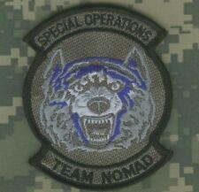 AMERICAN LEAGUE INFIDEL FEAR NONE TALIBAN WHACKER TEAM Grey Wolf vel©®⚙ PATCH