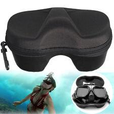 ~ Schwarz Schnorchelmaske Tauchmaske Taucherbrille Container Box für GoPro 3+4