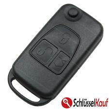 Mercedes Benz 3 Tasten Klappschlüssel Schlüsselgehäuse HU44 Funkschlüssel Ersatz