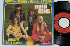 "BJÖRN + BENNY + ANNA + FRIEDA -Ring Ring / Rock'n Roll Band- 7"" 45 Polydor"