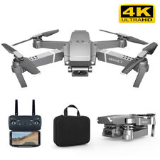 E68 4K 1080P HD Camera WiFi FPV RC Drone Aircraft Foldable Quadcopter
