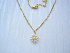 flower Enamel Costume Necklaces & Pendants