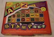 A to Z Stamp Set 36 Stamps 3 ink pads Hours of Fun