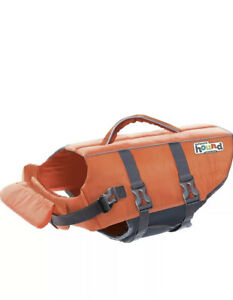 Outward Hound Dog Life Jacket- Orange XSmall