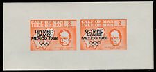 Pantorrilla de hombre (1440) - 1968 Juegos Olímpicos & Churchill M/Hoja de Menta desmontado