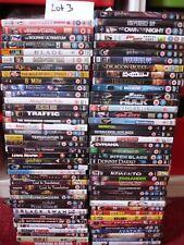 job lot bundle over 80 films, no duplicates DVDs. [lot 3]