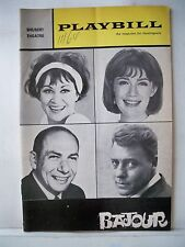 BAJOUR Playbill CHITA RIVERA / NANCY DUSSAULT / ROBERT BURR Tryout BOSTON 1964