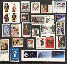 27 US Mint Stamps and Seals Mix :Nativity/Xmas/Religious/charity Theme!Inc.#Toys