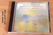 Mahler - Symphonie n°2 Résurrection - Otto Klemperer - Kathleen Ferrier  - CD