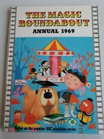 The Magic Roundabout annual 1969 hardback BBC TV book children's nostalgia