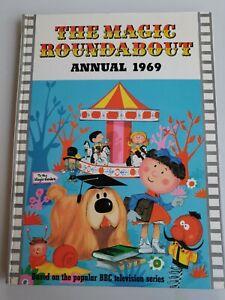 The Magic Roundabout annual 1969 hardback BBC TV book children's nostalgia