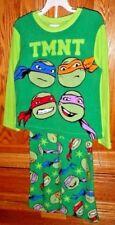 Nwt 8 pajamas top pant Tmnt Teenage Mutant Ninja Turtles bag + kawaii cube lot