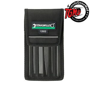 Stahlwille 72230001 6-Pc 100 mm Set Precision Warding Files 12800