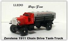 "Chevron Lledo Days Gone -  Zerolene 1911  tank-truck   3 1/2"" long"