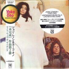 JOHN LENNON & YOKO ONO-UNFINISHED MUSIC NO. 2..-JAPAN MINI LP CD BONUS TRACK F30
