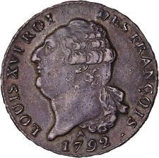 Louis XVI Ecu dit au Génie type François 1792 Orléans Superbe