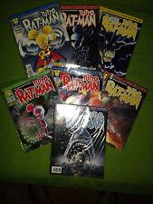 Tutto Ratman N° 1-2-3-4-5-6-7 ( 1a Edizione Originale) Ottimi, Imbustati!