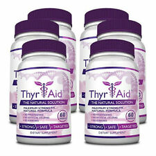 ThyrAid - Thyroid Health - Thyroid Supplement (6 Bottles)