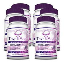 ThyrAid - Thyroid Health - Thyroid Supplement (6 Bottles)