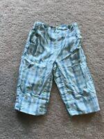 Girls 6-12 Mos Baby Gap Plaid Pants, Pockets 100% Cotton