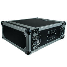 Seismic Audio 4U SPACE RACK CASE  Road Ready~Amp~Amplifier~EQ~Effects