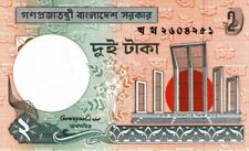 Bangladesh 1996 billet neuf de 2 taka pick 6Cb signature 2 UNC
