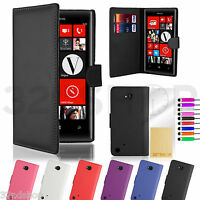 WALLET PU LEATHER CASE COVER FOR Nokia Lumia 720