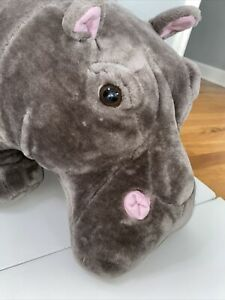Melissa and Doug Giant XL Hippopotamus Hippo Plush Stuffed Animal