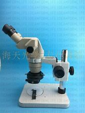 Olympus SZ40 SZ4045 stereo microscope+WF 10X eyepieces+LED Light+Base stand
