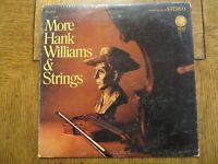 Hank Williams – More Hank Williams And Strings - MGM SE-4429 Vinyl LP P/VG!!!