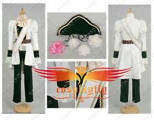 Axis Powers Hetalia Hungary White Adult Mens Uniform Cosplay Costume Custom Made