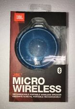 BRAND NEW JBL MICRO WIRELESS PORTABLE BLUETOOTH SPEAKER (BLUE)