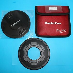 Fotodiox Pro WonderPana 145 System Holder and Lens Cap with 145 mm Filter Holder