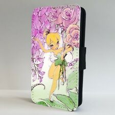 Tinkerbell Disney Fairy Flower Art FLIP PHONE CASE COVER for IPHONE SAMSUNG