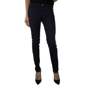Armani Jeans 6Y5J285N0RZ Pantalone da Donna in Cotone Slim Fit Blu Beige   -31 %