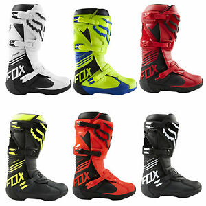 Fox Racing Comp Boot Flexible Secure Fit Adjustable Buckle Close Offroad MotoX