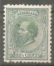 nederland  25 gestempeld  c.w.  €  55,00