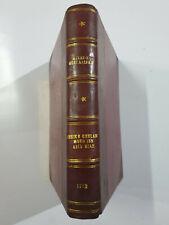 Tarikh Mirat-I- Mustafabad. History Junagadh Babi Rulers. 1913. 818p. 4to Heavy