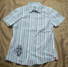 ESPRIT Hemd Shirt mit Print und schlankem Schnitt gestreift Gr.S NEU