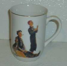 Norman Rockwell Mug Cup Grand Pals Vtg Kite Flying 4""